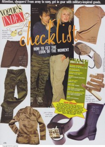 Vogue Sep 1 1996 Checklist