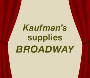 Kaufman's supplies Broadway