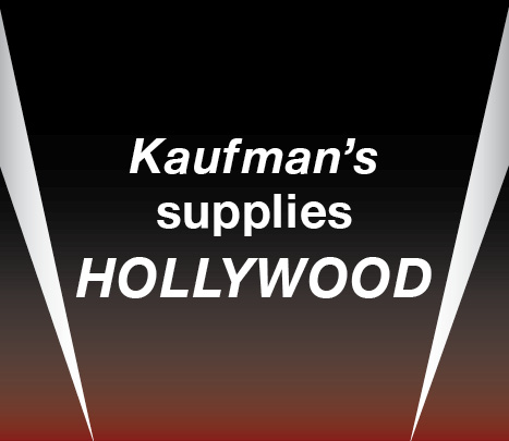 Kaufman's supplies Hollywood